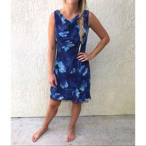 Vintage Feel Hawaiian Sleeveless Dress Donna Ricco